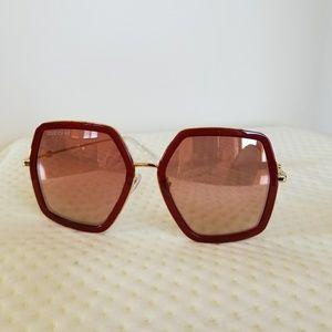 903e8e4585f Women s Pink Gucci Sunglasses on Poshmark